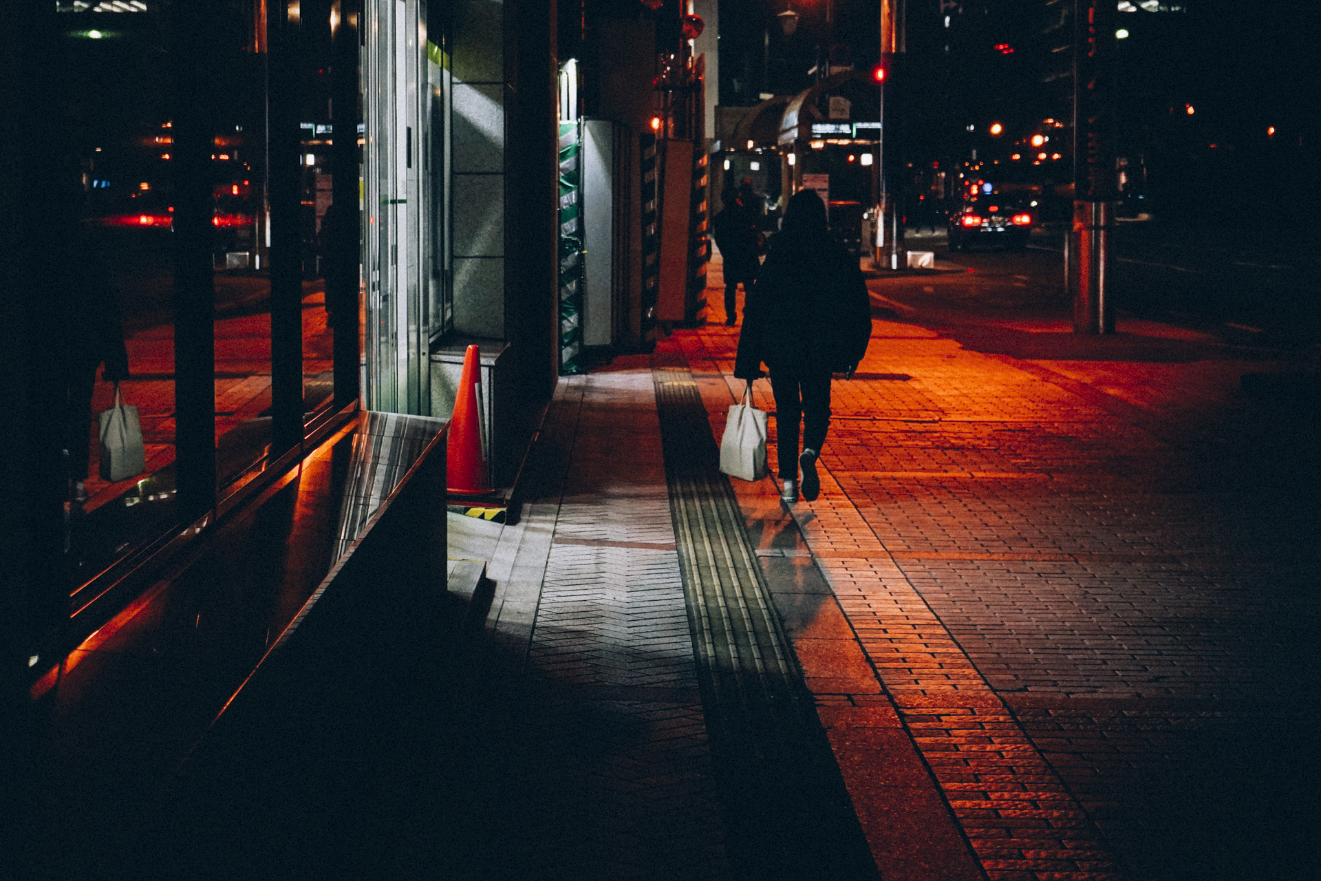 La nuit à Kumamoto